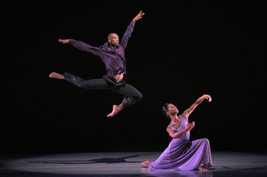 Ailey II's Tyler Brown and Gentry Isaiah George in Robert Battle's We. Photo Eduardo Patino, NYC